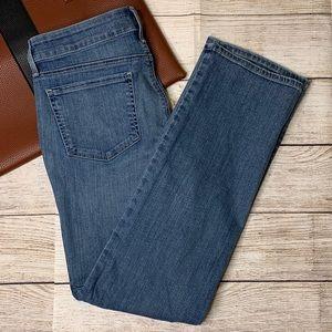 NYDJ Marilyn straight leg jeans size 10 short